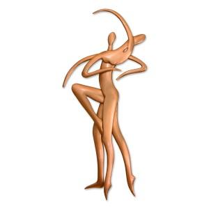 Ζευγάρι χορευτές Διακοσμητικά Τοίχου Διακοσμητικα - papadopoulis.gr