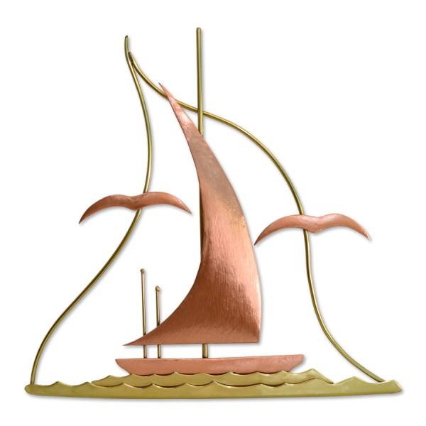Καράβι με γλάρους αφηρημένο περίγραμμα Διακοσμητικά Τοίχου Διακοσμητικα - papadopoulis.gr