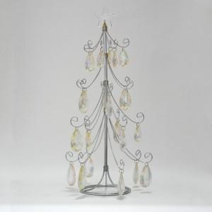 Χριστουγεννιάτικο δέντρο με σύρμα και κρύσταλλο Γούρια 2021 Διακοσμητικα - papadopoulis.gr