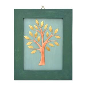 Χρωματιστό κάδρο με δέντρο Κάδρα Διακοσμητικα - papadopoulis.gr