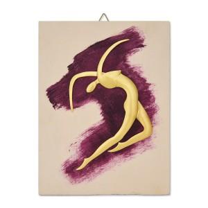 Χρωματιστό κάδρο με χορεύτρια Κάδρα Διακοσμητικα - papadopoulis.gr